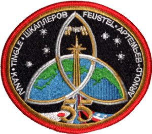 Space Station Expedition 55 Patch